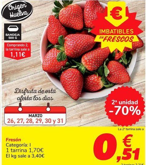 Oferta de Fresón  por 1,7€