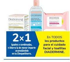 Oferta de En TODOS los productos para el cuidado facial y toallitas DIADERMINE. por