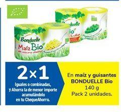 Oferta de En maíz y guisantes BONDUELLE Bio por