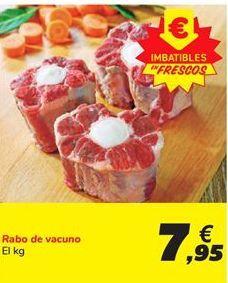 Oferta de Rabo de vacuno por 7,95€