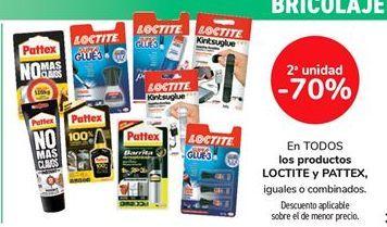 Oferta de En TODOS los productos LOCTITE y PATTEX, iguales o combinados  por