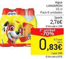 Oferta de Agua LANJARÓN por 2.76€