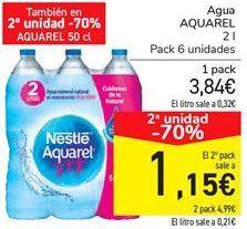 Oferta de Agua AQUAREL por 3.84€