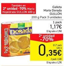 Oferta de Galleta Maria Dorada GULLÓN por 1,17€