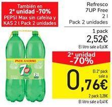 Oferta de Refresco 7UP Free por 2,52€
