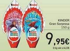 Oferta de KINDER Gran Sorpresa por 9.95€