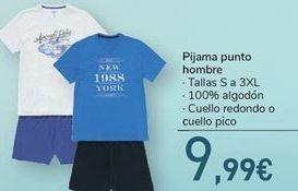 Oferta de Pijama punto hombre por 9.99€