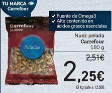 Oferta de Nuez pelada Carrefour por 2,25€