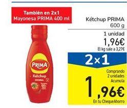 Oferta de Ketchup Prima por 1.96€