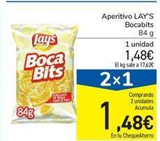 Oferta de Aperitivo LAY'S Bocabits 84 g por 1,48€