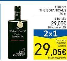 Oferta de Ginebra the botanical's por 29,05€