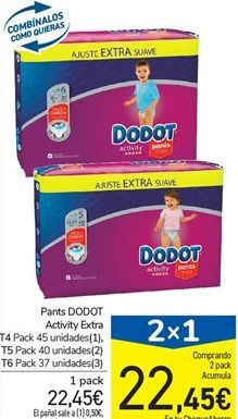 Oferta de Pants DODOT Activity Extra T4, T5  o T6  por 22,45€