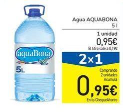 Oferta de Agua Aquabona por 0,95€