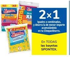 Oferta de En TODAS las bayetas SPONTEX por