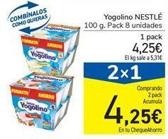 Oferta de Yogur Nestlé por 4.25€