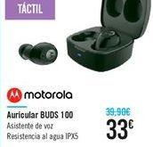 Oferta de Auricular BUDS 100  por 33€