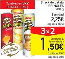 Oferta de Snack de patata PRINGLES por 2.25€