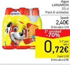 Oferta de Agua LANJARÓN por 2,4€