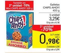 Oferta de Galletas Chips Ahoy por 3,25€