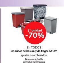 Oferta de Cubos de basura y de fregar Tatay por