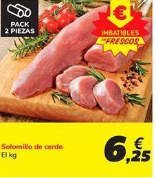 Oferta de Solomillo de cerdo por 6,25€