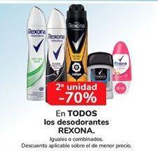 Oferta de Desodorante Rexona por
