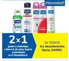 Oferta de En TODOS los desodorantes Spray SANEX por
