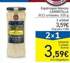 Oferta de Espárragos blancos Carretilla por 3,59€