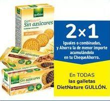 Oferta de En TODAS las galletas DietNature GULLÓN por