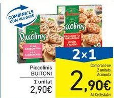 Oferta de Piccolinis Buitoni por 2.9€