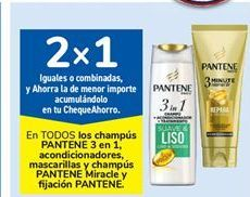Oferta de En TODOS los champús PANTENE 3 en 1, acondicionadores, mascarillas y champús PANTENE Miracle y fijación Pantene por