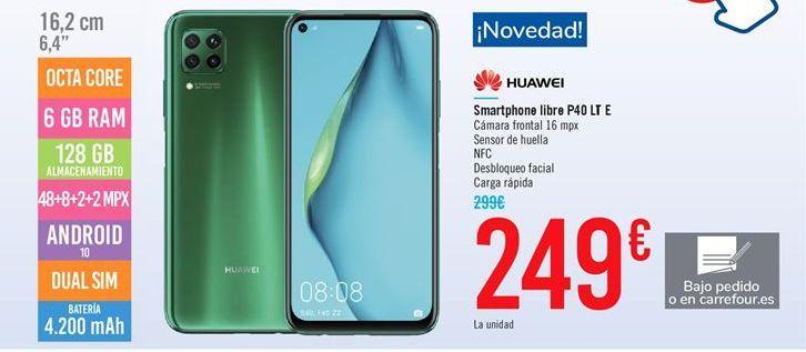 Oferta de Smartphones libre P40 LT E por 249€