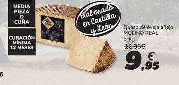 Oferta de Queso de oveja añejo molino real por 9.95€