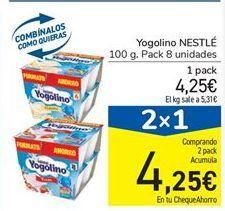 Oferta de Yogolino NESTLÉ por 4,25€