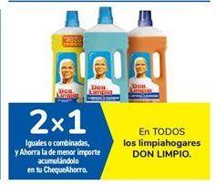 Oferta de En TODOS los limpiahogares DON LIMPIO por