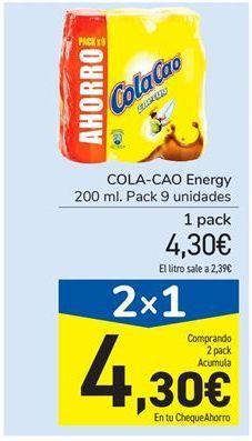 Oferta de COLA-CAO Energy por 4,3€