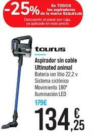 Oferta de Aspirador sin cable Ultimated animal por 134.25€