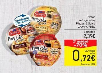 Oferta de Pizza Campofrío por 2,39€