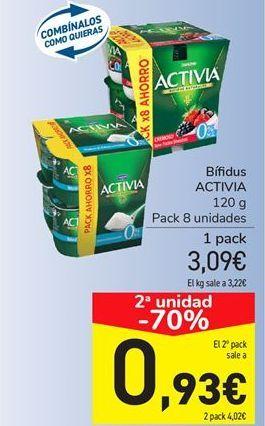 Oferta de Bífidus ACTIVA por 3,09€