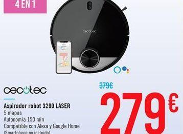 Oferta de Aspirador robot 3290 laser por 279€