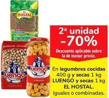 Oferta de Legumbres cocidas Luengo por