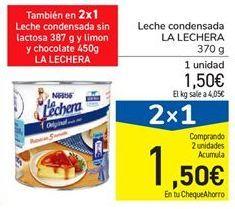 Oferta de Leche condensada La Lechera por 1,5€