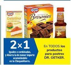 Oferta de En TODOS los productos para postres DR. OETKER por