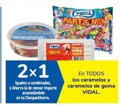 Oferta de En TODOS los caramelos y caramelos de goma VIDAL por