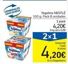 Oferta de Yogolino NESTLÉ por 4,2€