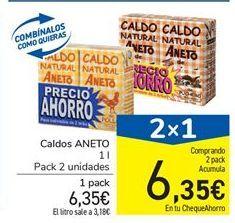 Oferta de Caldo Aneto por 6.35€