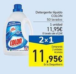 Oferta de Detergente líquido Colon por 11,95€