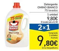 Oferta de Detergente OMINO BIANCO por 9,8€