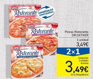 Oferta de Pizzas Ristorante DR.OETKER por 3.49€