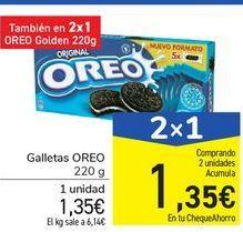 Oferta de Galletas Oreo por 1.35€
